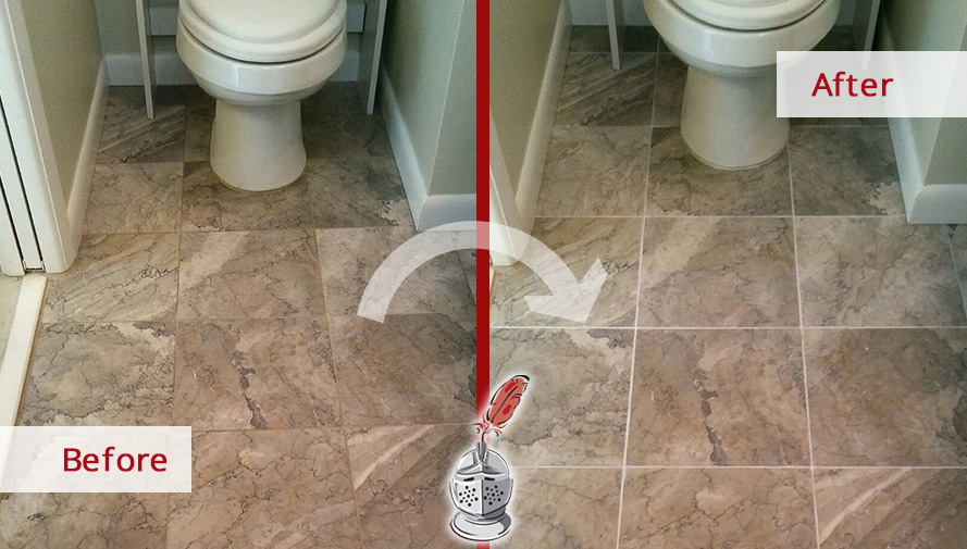 A Grout Recoloring In Clearwater FL Totally Revamped The Appearance - Bathroom grout cleaning services